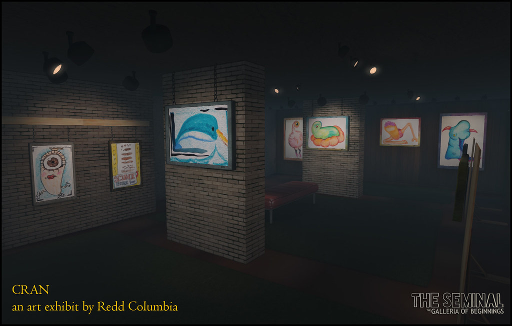 CRAN: An art exhibit & auction by Redd Columbia - TeleportHub.com Live!