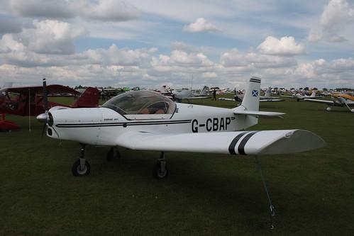 G-CBAP Zenair CH.601 [PFA 162A-13656] Sywell 010917