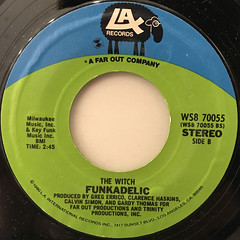 FUNKADELIC:CONNECTIONS AND DISCONNECTIONS(LABEL SIDE-B)