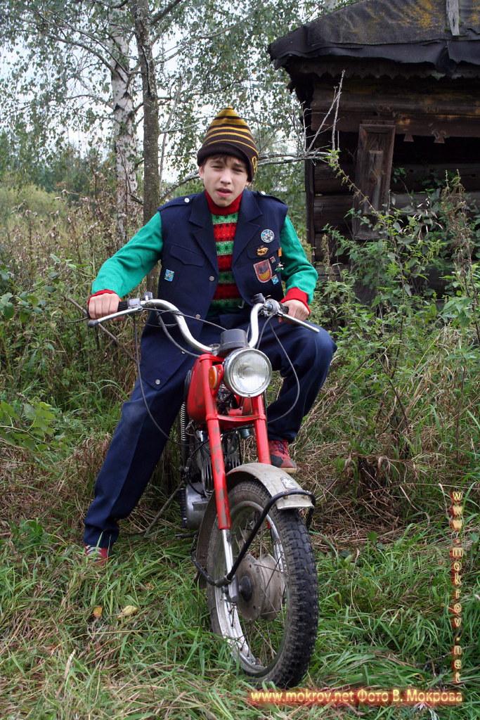 На съемках худ. фильма «Ласковый май» портрет