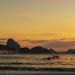 Remadores em Copacabana