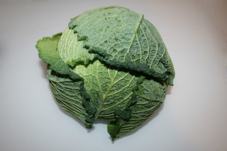 02 - Zutat Wirsing / Ingredient savoy
