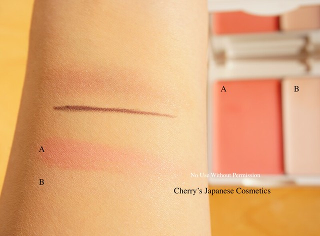 Cosme Decorte AQMW Eyeliner: blush