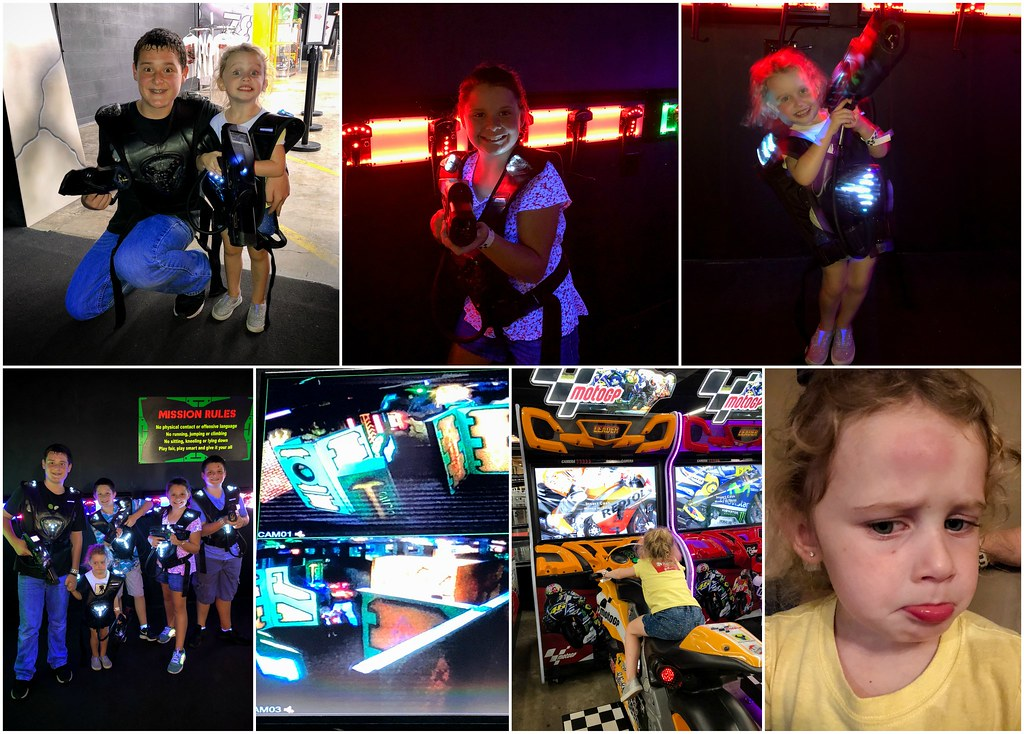 laser tag at the pit
