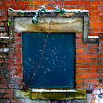 Old window in Ashton Park, Preston