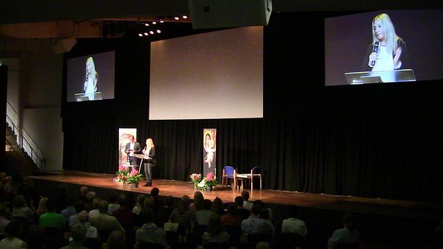 Vassula presenting in Denmark