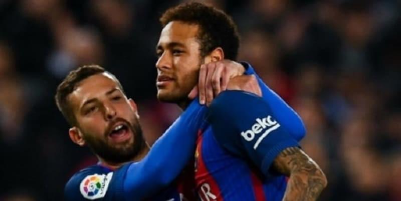 Jordi Alba Bersyukur Kalau Neymar Pergi Dari Barcelona