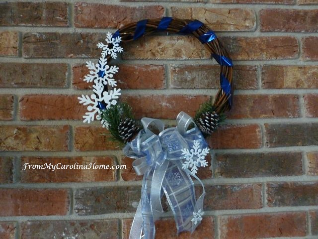 Holiday Wreaths at From My Carolina Home