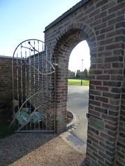 Shakespeare Garden - Lightwoods House - Lightwoods Park - gate