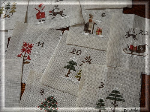 The little stitcher - advent calendar (2)