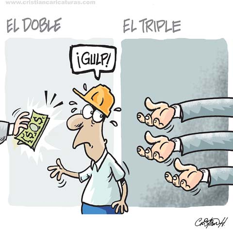 El doble y el triple