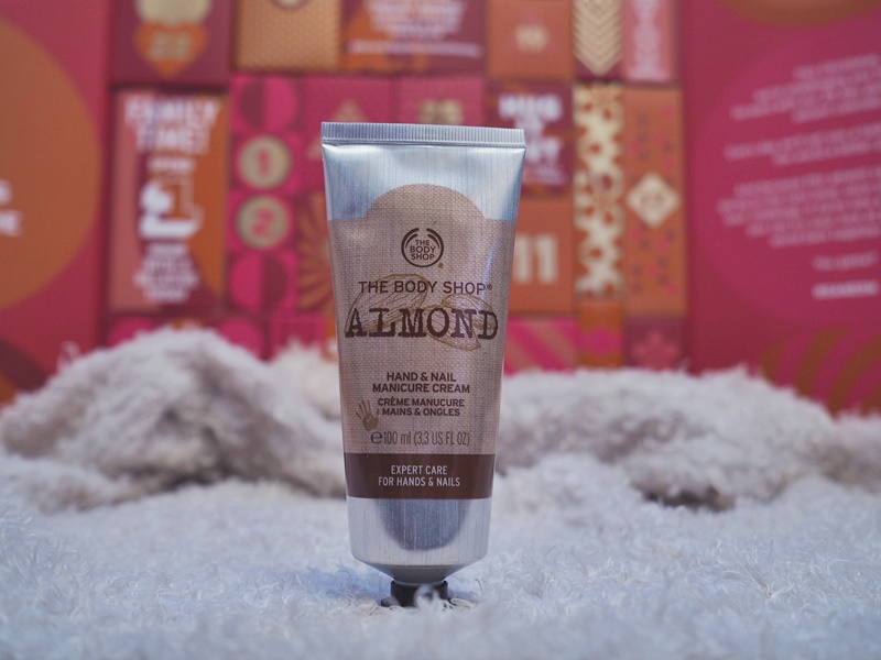 the body shop almond rasva