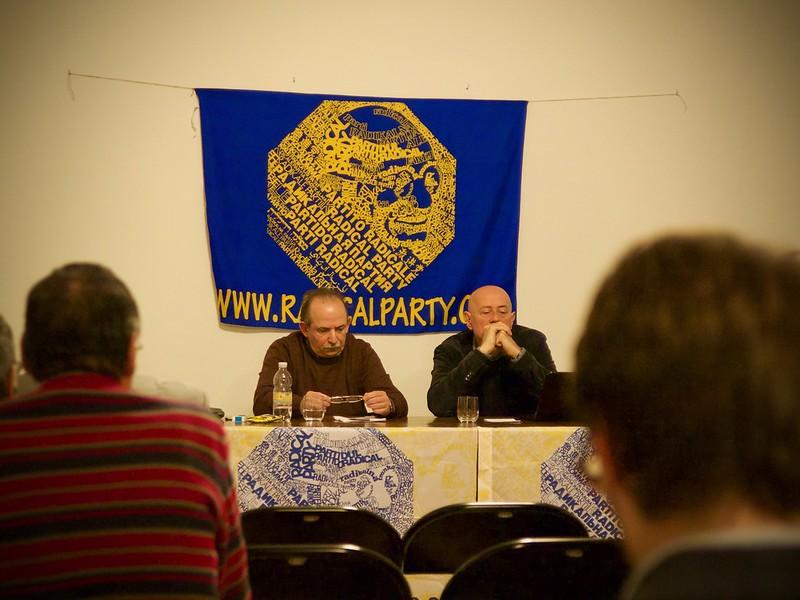 Marco Gentili e Sergio D'Elia