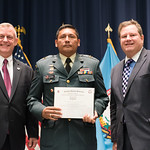 Fri, 10/20/2017 - 14:22 - On October 20, 2017, the William J. Perry Center for Hemispheric Defense Studies hosted a graduation ceremony for its Strategy and Defense Policy course. The ceremony took place in Lincoln Hall at Fort McNair in Washington, DC.