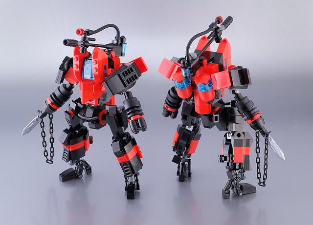 Lego mech suit 01, Fujifilm X-E1, XF60mmF2.4 R Macro