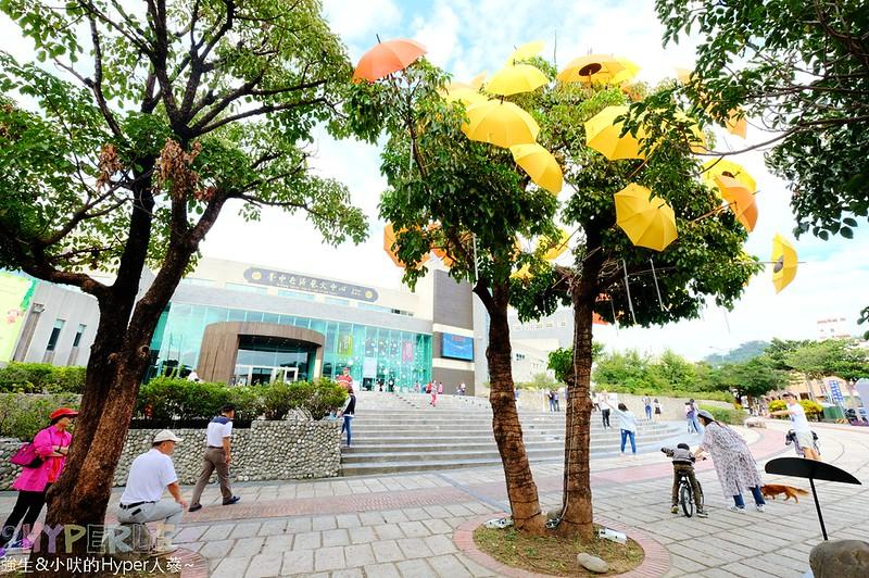 傘亮花博閃耀臺中屯區藝術中心裝置藝術展 (14)