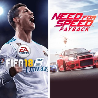 EA SPORTS FIFA 18 and Need for Speed Payback Bundle