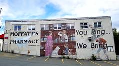 Moffatt's Pharmacy Mural Art