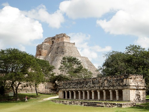 Uxmal - Columns Group