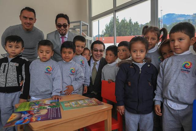 Inauguración UEM Salausí Cuenca