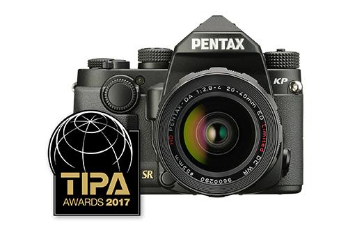 PENTAX KP: Best APS-C DSLR Expert - TIPA 2017