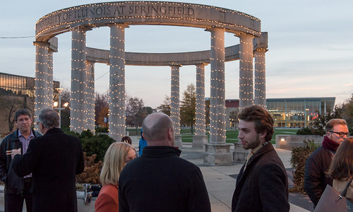 UIS Feature: Lighting up the holidays