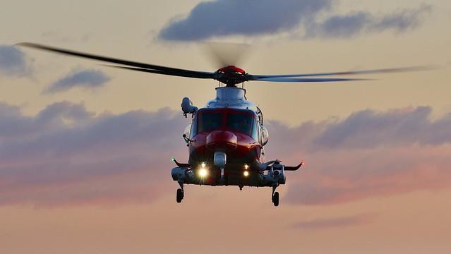 A139 G-CILN Bristow Coastguard