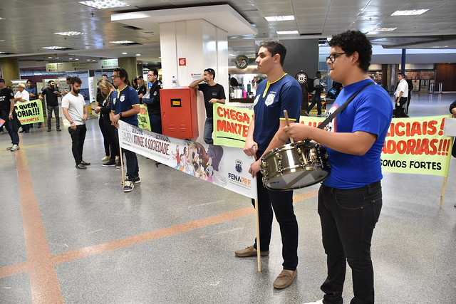 27.11.2017 - Ato Público no Aeroporto de Brasília