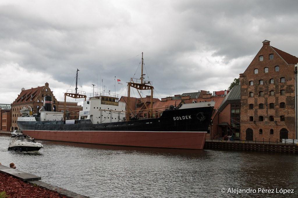 Barco en Gdansk