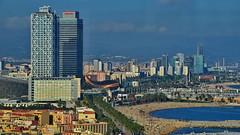 Barcelona Corniche & Skyline
