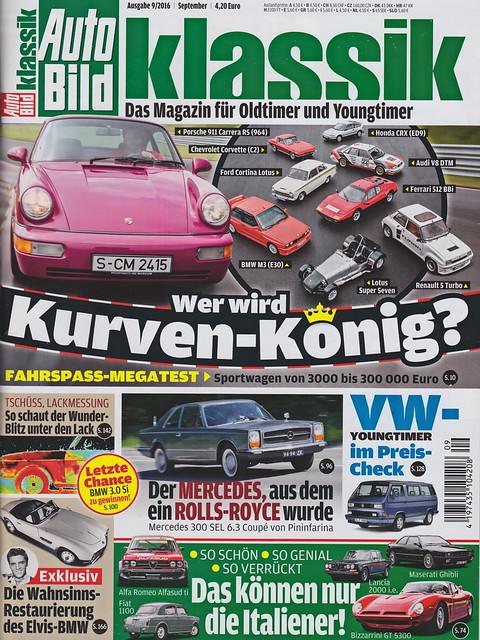 Auto Bild Klassik 9/2016