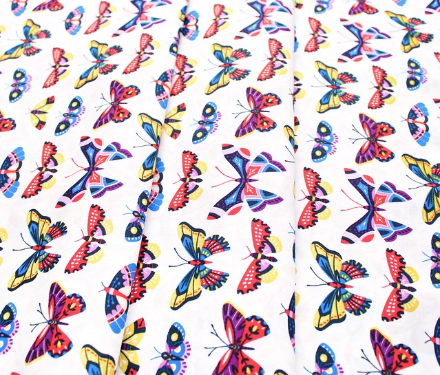 Cloud9 Fabrics Bohemian Garden 200101 Butterfly Bloom