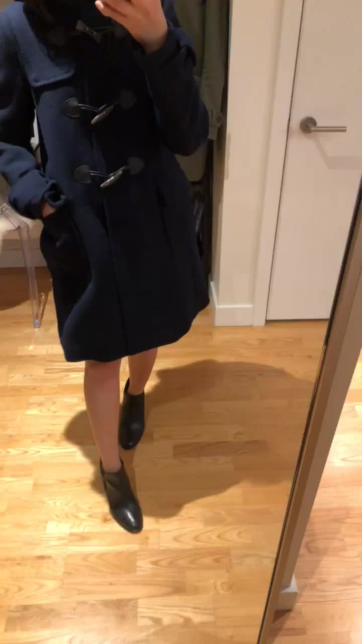 Kate Spade Toggle Coat, size XS