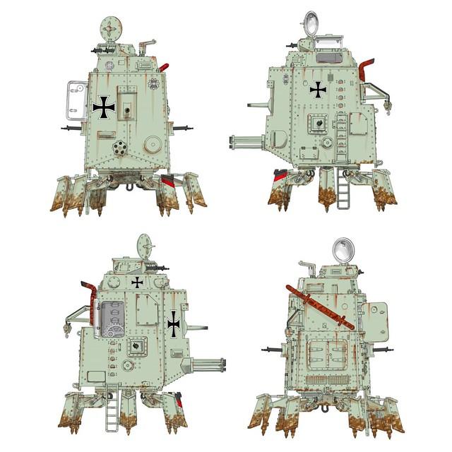 machinestudio walker drawings
