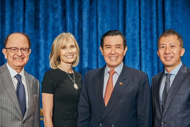 Conversation With Ma Ying-Jeou, Former President of Taiwan.