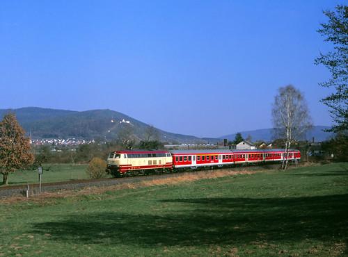Der Star der Westfrankenbahn
