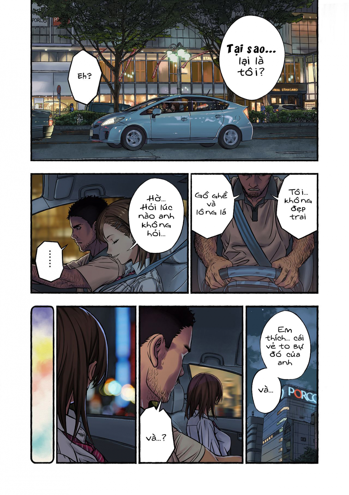 HentaiVN.net - Ảnh 16 - Chinatsu to Kuma-chan Sensei - Chinatsu và Anh Thầy Gấu Bự; 千夏と熊ちゃん先生 - Oneshot