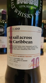 SMWS 2.100 - Set sail across the Caribbean