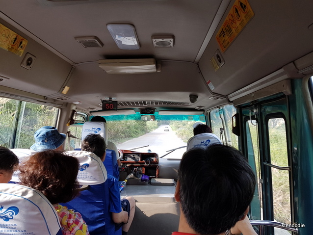 Tianmen Mountain bus