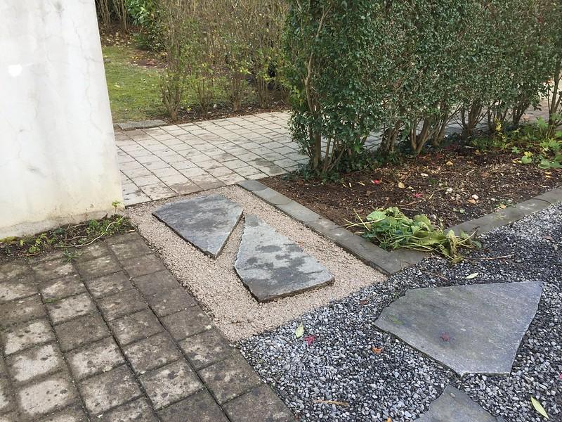 New garden entrance