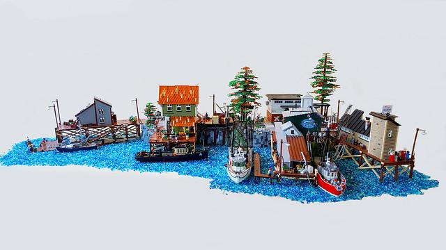 Brickton harbour