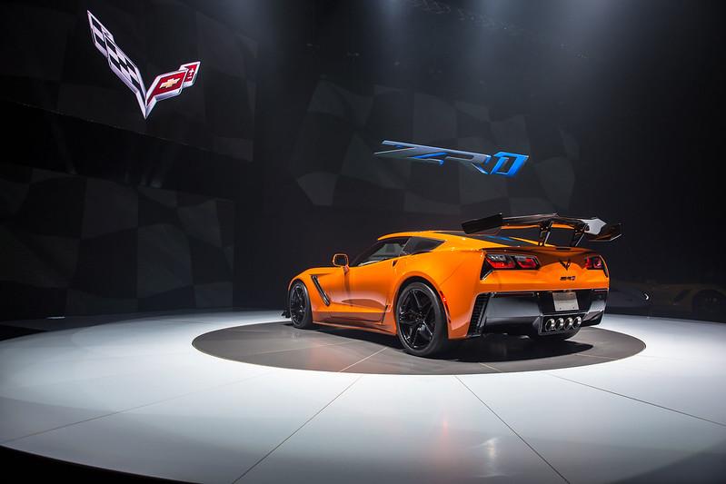 Corvette ZR 1World Premier carbonoctane