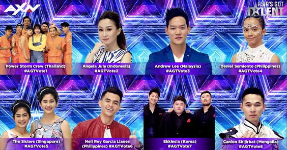 Asia's Got Talent Semi-Finalists