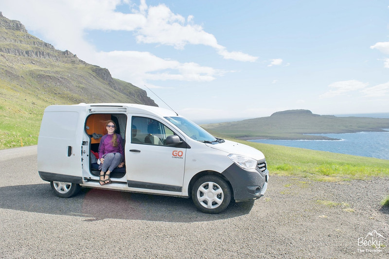 Hiring a campervan in Iceland – Go Campers Iceland review - Campervan viewpoint stop