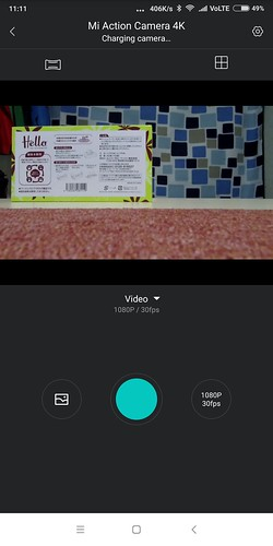 Xiaomi mijia action carmera mini 4K WIFI ペアリング設定方法 (14)