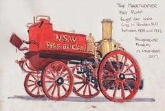 Merryweather Fire Pump. Powerhouse Museum, Sydney