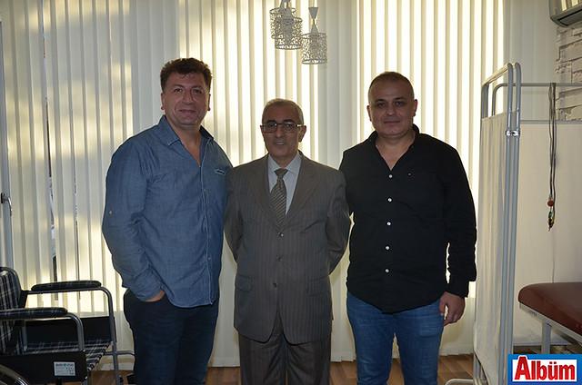 Ercan Balcı, Erdem Babacan, Vedat Kaygısız