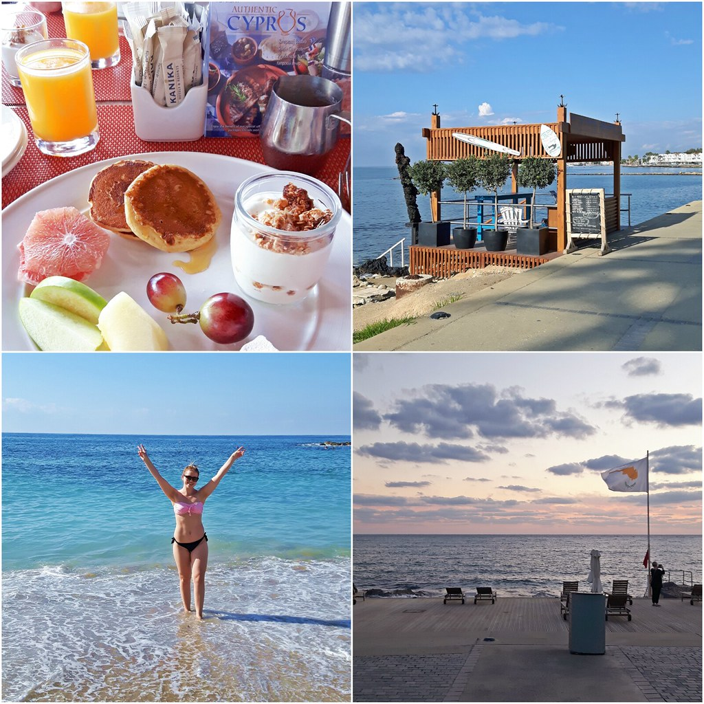 pafos-collage-breakfast-beach-sunset