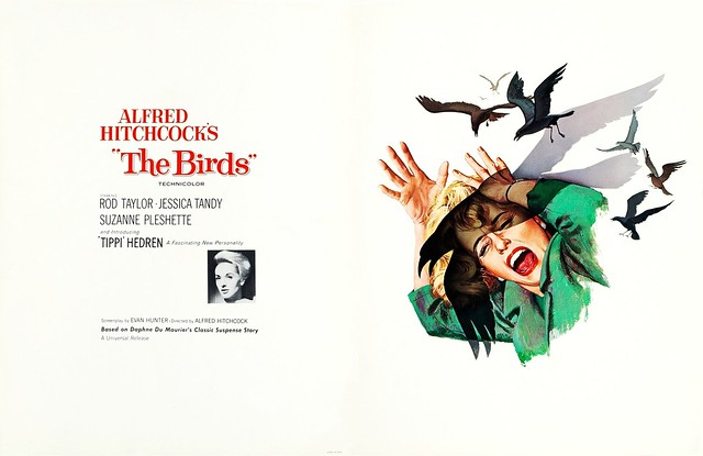 The Birds (1963 / Universal) front & back cover