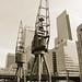 Cranes: Canary Wharf